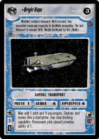star wars ccg cloud city bright hope