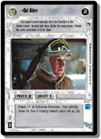 star wars ccg hoth limited cal alder
