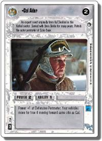 star wars ccg hoth revised cal alder wb