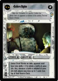 star wars ccg tatooine caldera righim