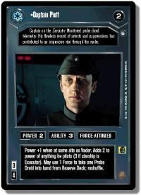star wars ccg hoth limited captain piett