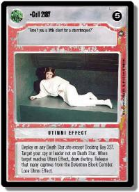 star wars ccg a new hope limited cell 2187