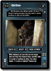 star wars ccg anthologies sealed deck premium chall bekan
