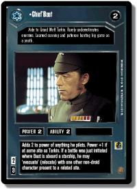 star wars ccg premiere limited chief bast