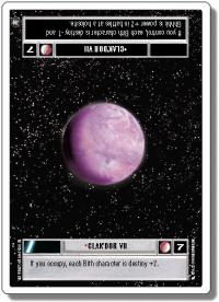 star wars ccg a new hope revised clak dor vii wb