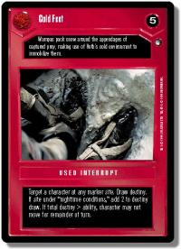 star wars ccg hoth limited cold feet