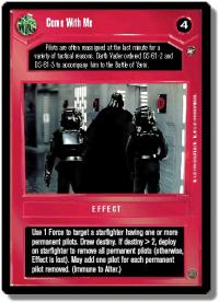 star wars ccg a new hope limited come with me