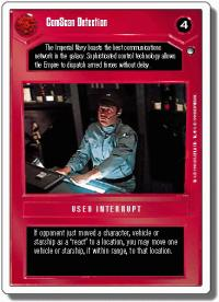 star wars ccg hoth revised comscan detection wb