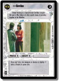 star wars ccg a new hope limited corellian