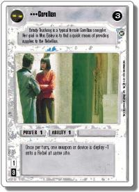 star wars ccg a new hope revised corellian wb