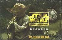 star wars ccg star wars sealed product dagobah limited booster box