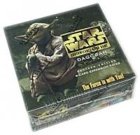 star wars ccg star wars sealed product dagobah revised booster box