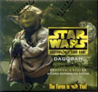 star wars ccg star wars sealed product dagobah revised booster pack
