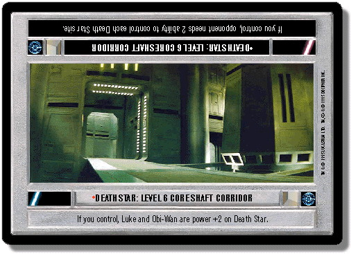 Death Star: Level 6 Core Shaft Corridor