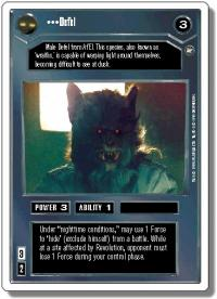 star wars ccg a new hope revised defel wb