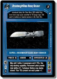 star wars ccg anthologies sealed deck premium dreadnaught class heavy crusier