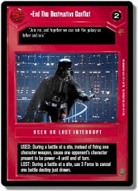 star wars ccg cloud city end this destructive conflict