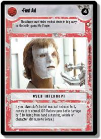 star wars ccg special edition first aid