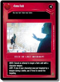 star wars ccg cloud city forced landing