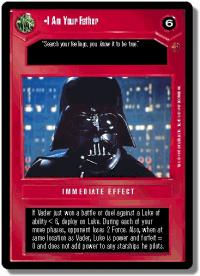 star wars ccg cloud city i am your father