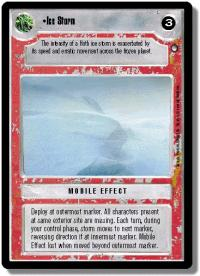 star wars ccg hoth limited ice storm light