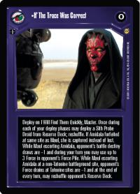star wars ccg tatooine if the trace was correct