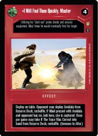 star wars ccg tatooine i will find them quickly master