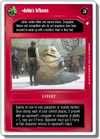 star wars ccg anthologies sealed deck premium jabba s influence 1st