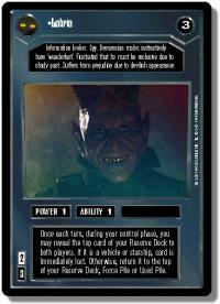 star wars ccg premiere limited labria