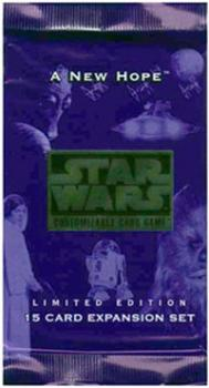 star wars ccg star wars sealed product a new hope limited booster pack
