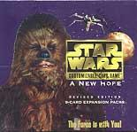 star wars ccg star wars sealed product a new hope revised booster box