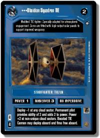 star wars ccg anthologies sealed deck premium obsidian squadron tie