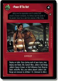 star wars ccg anthologies sealed deck premium power of the hutt