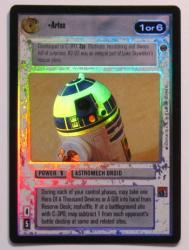 star wars ccg reflections i artoo foil