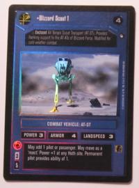star wars ccg reflections i blizzard scout 1 foil