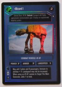 star wars ccg reflections i blizzard 1 foil