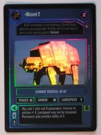 star wars ccg reflections i blizzard 2 foil
