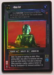 star wars ccg reflections i boba fett foil
