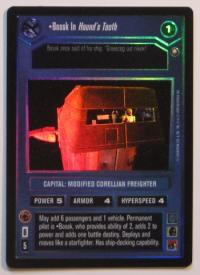 star wars ccg reflections i bossk in hounds tooth foil