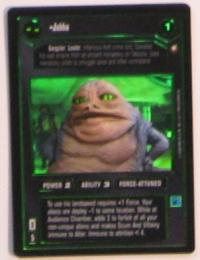 star wars ccg reflections i jabba foil