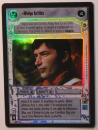star wars ccg reflections i wedge antilles foil