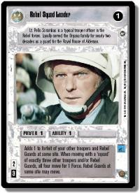 star wars ccg a new hope limited rebel squad leader