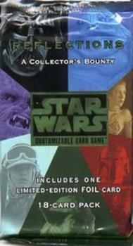 star wars ccg star wars sealed product reflections 1 booster pack