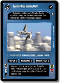 star wars ccg special edition sentinel class landing craft