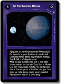 star wars ccg anthologies sealed deck premium set your course for alderaan 3rd