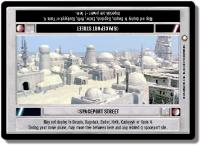 star wars ccg special edition spaceport street light