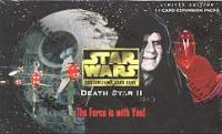star wars ccg star wars sealed product death star ii booster box