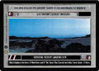 star wars ccg tatooine tatooine desert landing site