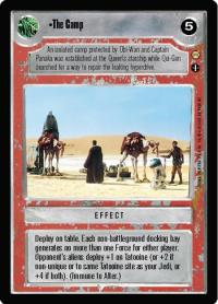 star wars ccg tatooine the camp