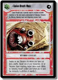 star wars ccg premiere limited tusken breath mask